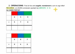 Interactive worksheet SUMES PORTANT