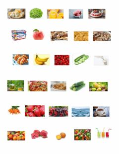 Interactive worksheet Aliments