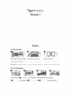 Interactive worksheet Tiger 4 Unit 6 Review