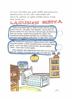 Interactive worksheet Lagunen bisita