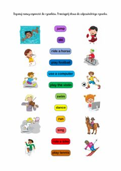 Interactive worksheet Playtime activities Gold Sparks 2