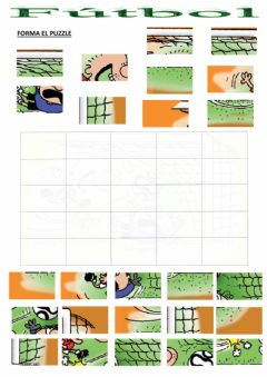 Interactive worksheet Fútbol - Puzzle