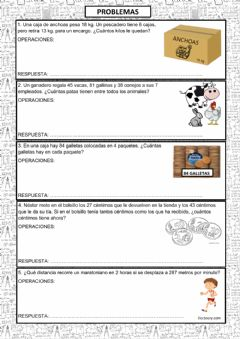 Interactive worksheet Problemas 1