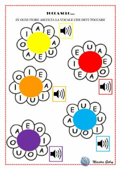 Interactive worksheet Tocca solo...