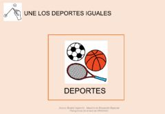 Interactive worksheet Los deportes