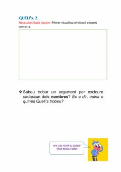 Interactive worksheet Queli's 2