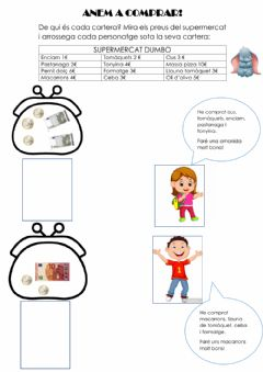 Interactive worksheet Anem a comprar