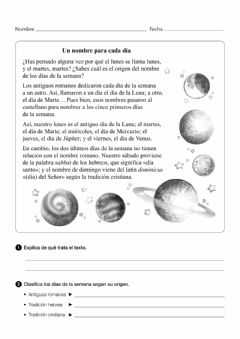 Interactive worksheet Aprendo a comprender textos