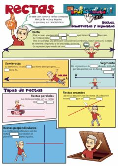 Interactive worksheet Rectas