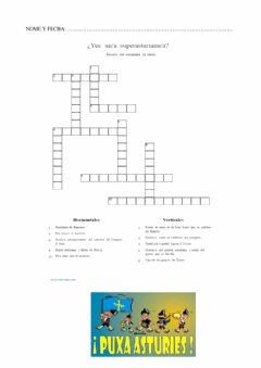 Interactive worksheet Superasturianos