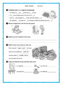 Interactive worksheet Repas T11