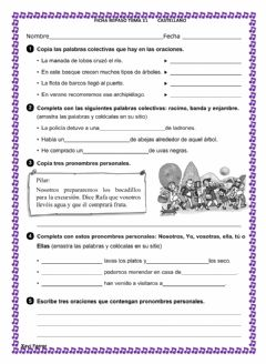 Interactive worksheet Repaso T11 Castellano