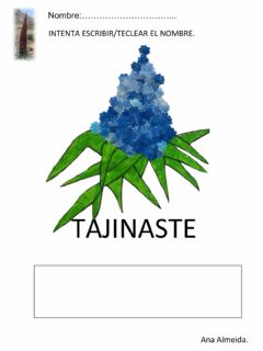 Interactive worksheet Tajinaste
