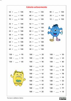 Interactive worksheet Formare il 100