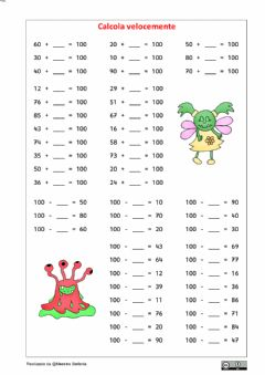 Interactive worksheet Formare il 100 2