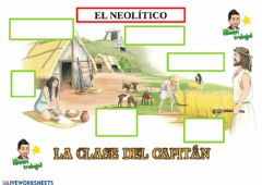 Interactive worksheet El neolítico