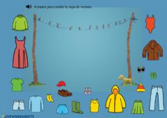 Interactive worksheet Vocabulario: ropa de verano