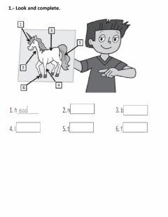 Interactive worksheet Descriptios