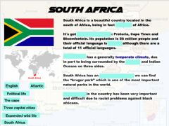 Interactive worksheet South Africa