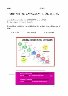 Interactive worksheet Capacitat