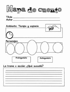 Interactive worksheet Mapa cuento