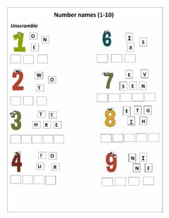 Interactive worksheet Drag and drop numbers