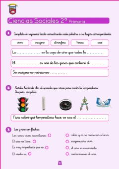 Interactive worksheet Ciencias Sociales 2º 01