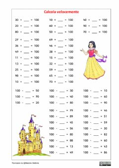 Interactive worksheet Formare il 100 3