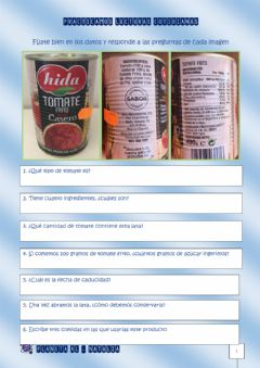 Interactive worksheet Lecturas cotidianas