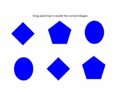Interactive worksheet Matching Shapes