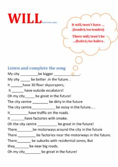 Interactive worksheet My city