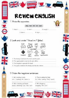 Interactive worksheet Review Unit 6