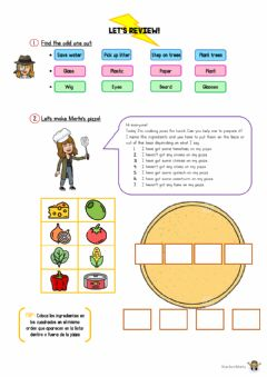 Interactive worksheet Let's review I