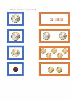 Interactive worksheet monedas y equivalencias