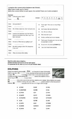 Ficha interactiva PrePET - REVISION - Multiple Choices