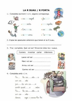 Interactive worksheet R-rr