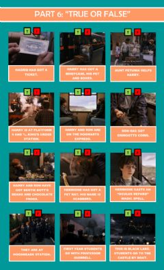 Interactive worksheet -Harry Potter and the Philosopher's Stone-