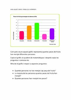Interactive worksheet Gràfic de barres