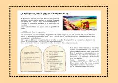 Interactive worksheet Los Diez Mandamientos