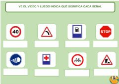 Interactive worksheet Seguridad Vial