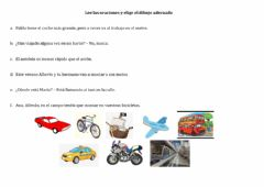 Interactive worksheet Transporte revisi'on