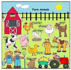 Interactive worksheet Farm Animals-Listening