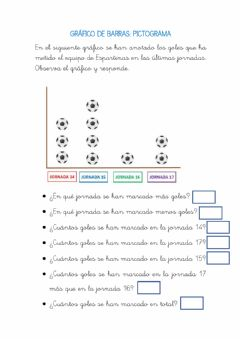 Interactive worksheet Gráfico de barras