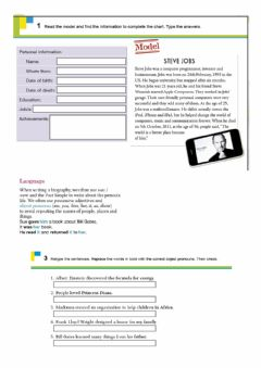 Interactive worksheet Object pronoun