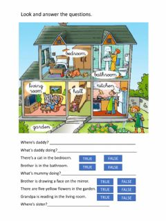 Interactive worksheet Read and answer