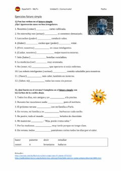 Interactive worksheet El futuro simple