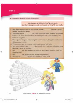 Interactive worksheet 6th grade Unit 6 - Career - Workbook pages 50-51