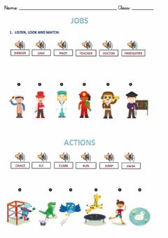 Interactive worksheet Jobs and actions.2