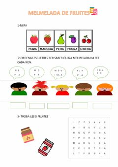Interactive worksheet Melmelada