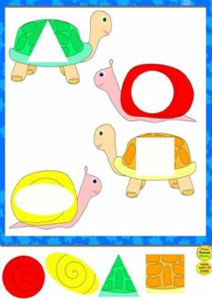 Interactive worksheet Las tortugas